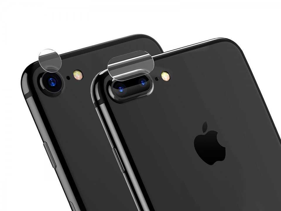 замена стекла камеры на айфон 8