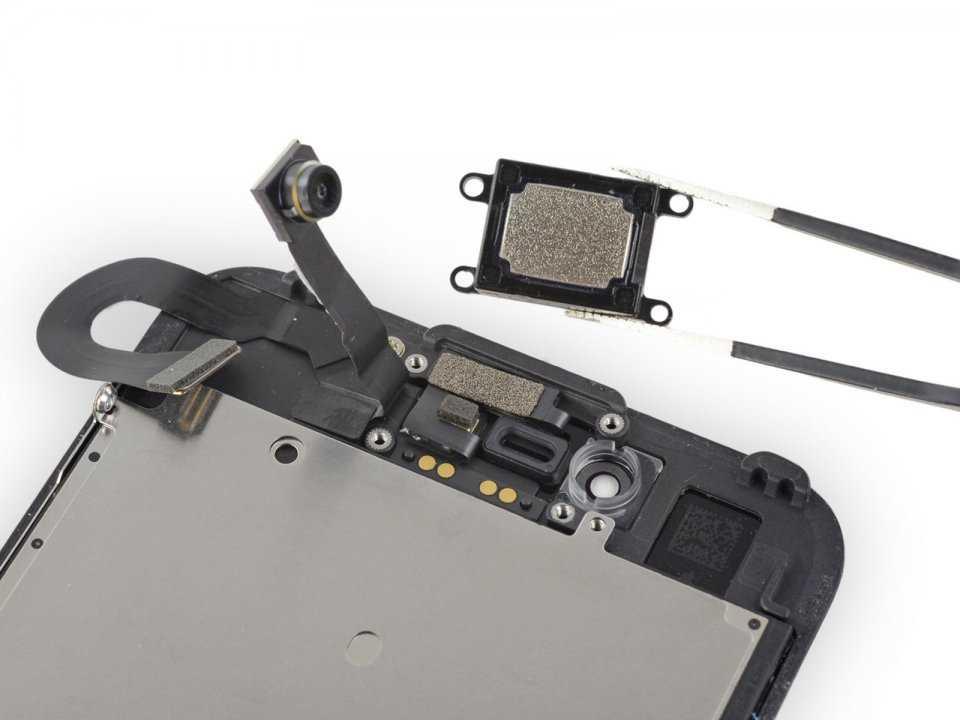 Извлечение компонента с дисплейного модуля | PlanetiPhone
