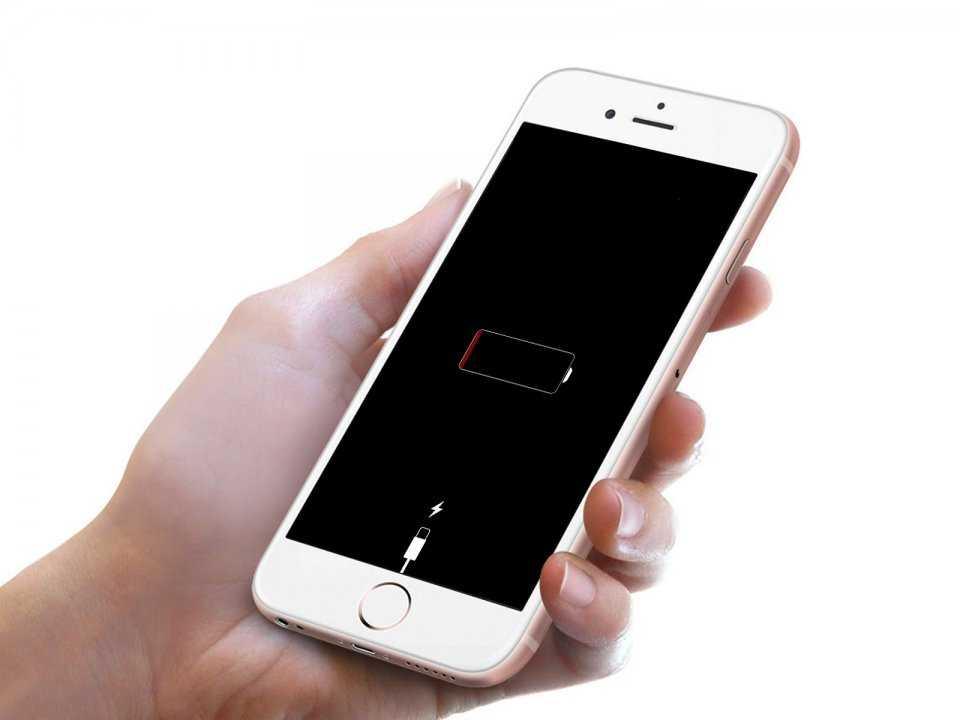 Батарея садится быстрее, если пользваться звонками.