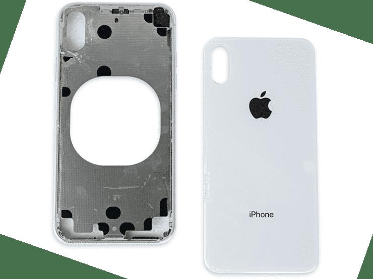 замена заднего стекла крышки айфон 5s