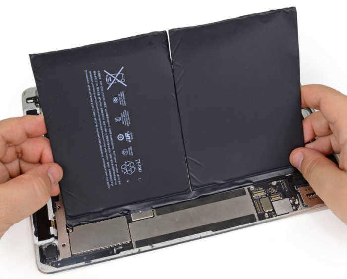 замена батареи ipad a1430