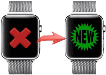 Замена Apple Watch на новые